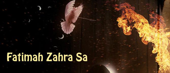 Syahadat Fatimah Zahra sesuai riwayat