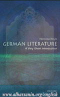 German Literature: A Very Short Introduction (Very Short Introductions)